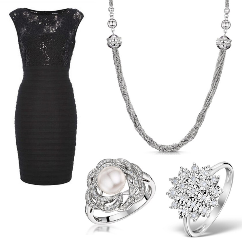 what jewellery suits my dress