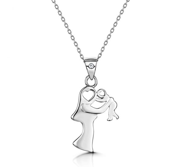 Best Gifts for Mum - mother and child necklace