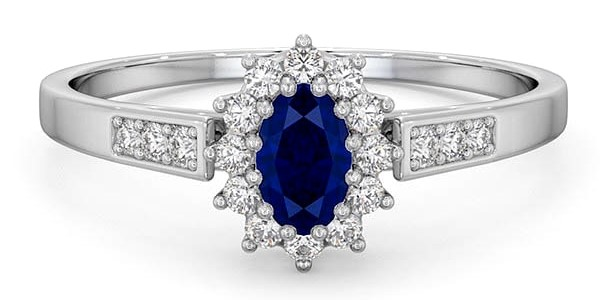 Can any ring be an engagement ring? Or does it have to be a diamond?