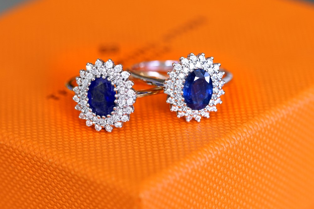 Is sapphire OK for an engagement ring?