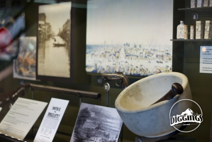 The Sacramento History Museum displays artifacts, images, and documents from Sacramento's past.