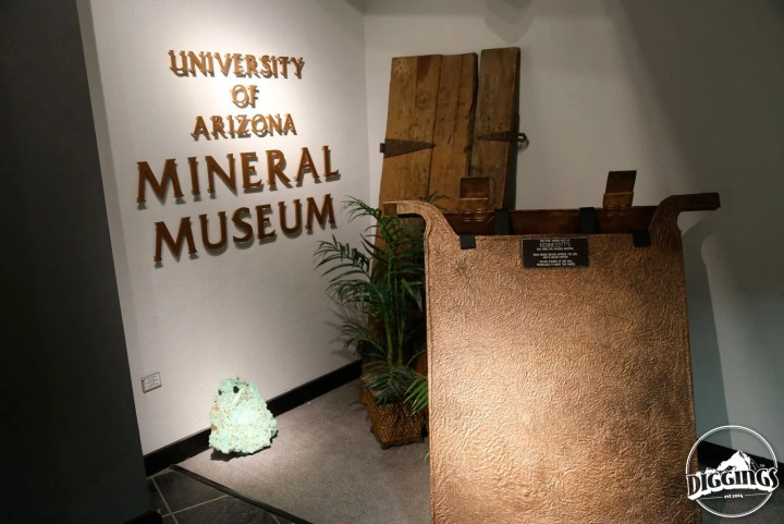 University of Arizona Mineral Museum entry