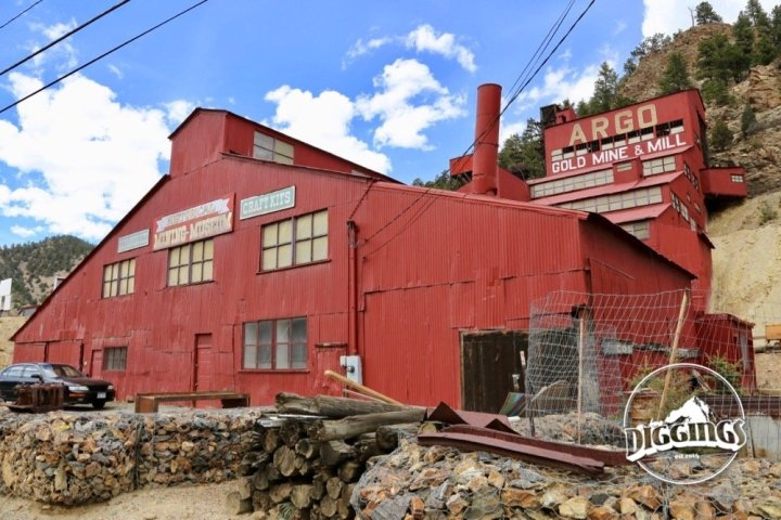 Outside the Argo Gold Mill, Idaho Springs, Colorado