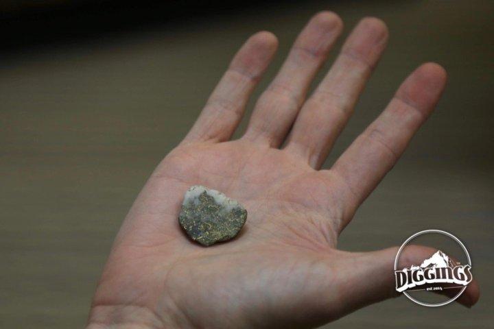 Gold in quartz vein at the Argo Gold Mine & Mill, Idaho Springs, Colorado