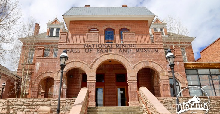 Entrance to the National Mining Hall of Fame & Museum
