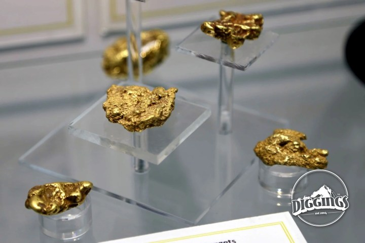 Gold Nuggets at the National Mining Hall of Fame & Museum