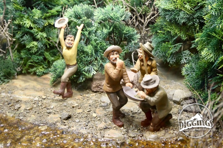 Eureka! Celebrating miners diorama at the National Mining Hall of Fame & Museum