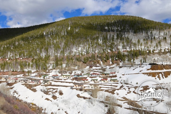 1880s silver boomtown turned ghost town in Gilman, Colorado