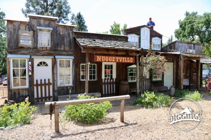 Nuggetville at the Gold Nugget Museum