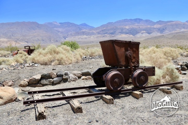 Ore Cart & Rail in Ballarat, California