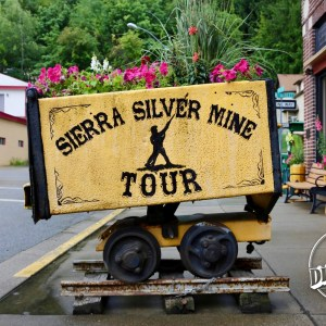 Pickup point for the Sierra Silver Mine Tour.