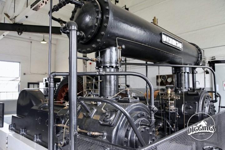 Air Compressor at the Soudan Underground Mine State Park