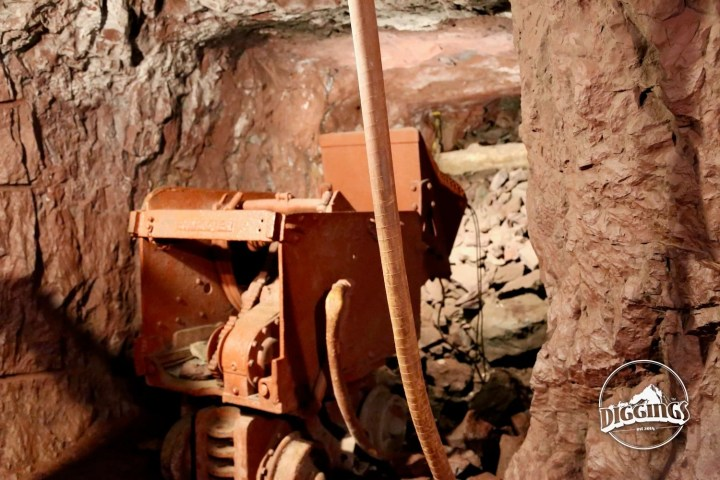 Shovel loader at the Soudan Underground Mine State Park