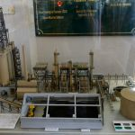 Scale Model of the Coking Plant at the California Oil Museum.