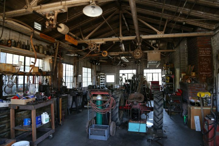The Hathaway machine shop was a novelty in its day and location.