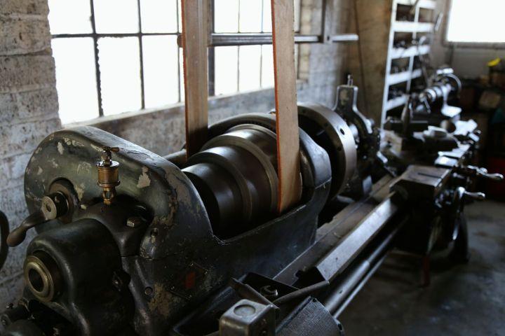 Steam Powered Lathe