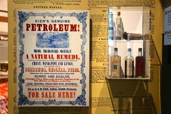 Petroleum in Early Medicine