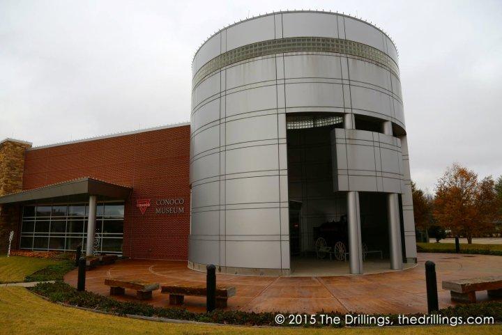 Conoco Museum Entrance