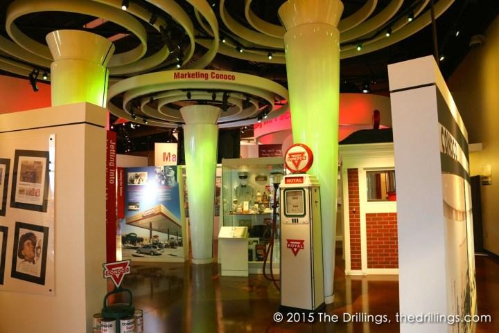 Inside the Conoco Museum