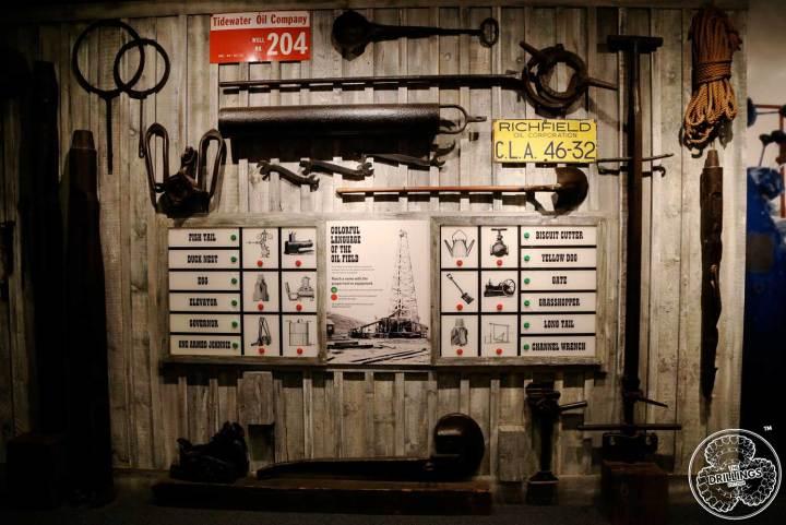 Oil Field Language Display
