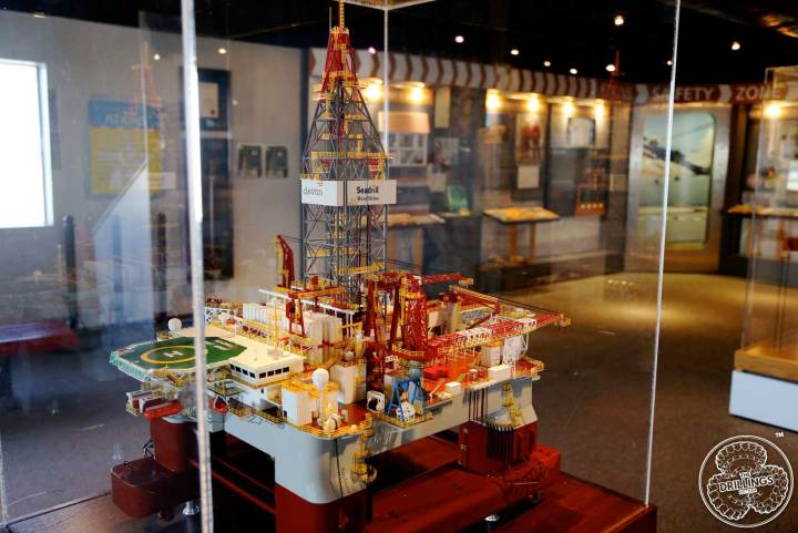 Offshore Drilling Rig Model