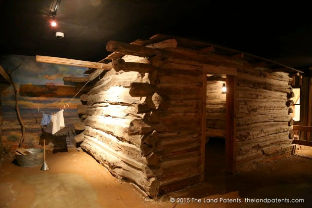 Cabin At The Panhandle–Plains Historical Museum