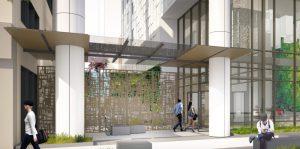 Residential Lobby Gate