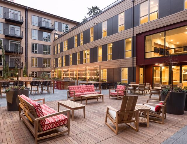 The Carter on The Park, Redmond, Puget Sound, MainStreet Property Group LLC, Kirkland