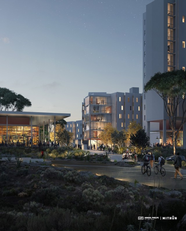 Hensel Phelps, Mithun Design, Nuevo West Graduate Student Housing, UC San Diego