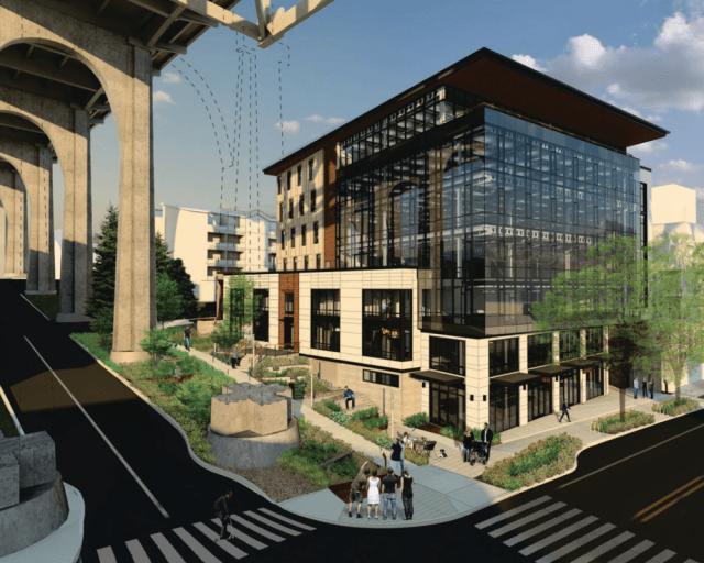 Pilot program, Weber Thompson, Fremont, office building, Stephen C. Grey & Associates, Seattle Living Building Pilot Program