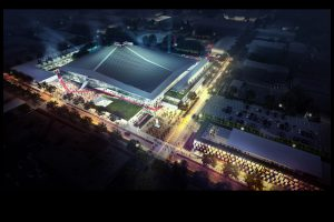 Seattle Partners, AEG, Hudson Pacific Properties, KeyArena, Seattle Coliseum,
