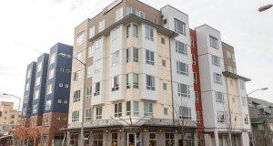 BlackRock, Seattle, Helix-Ellipse Apartment Complex, Puget Sound,