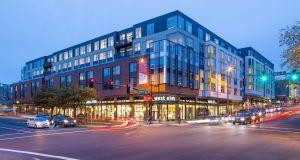 Seattle, Bellevue, Equity ResidentialVenn at Main Apartments, The Wolff Company, Baylis Architects, LifeBridge Church, Leavitt Capital Companies