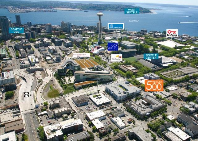 500 Mercer Partners, K&L, Kidder Mathews, Lumen Building, Seat South Lake Uniontle Center,, West Coast, Washington, Oregon, California, Nevada, Arizona