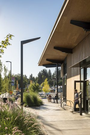 Seattle, Graham Baba Architects, HEWITT, KPFF, PAE Engineers, Harriott Valentine Engineering, Luma, ARUP, The Hangar at Kenmore Town Green
