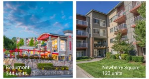 MG Properties Group, Beaumont Apartments, Newberry Square Apartments, Moran & Company, MGPG, NorthMarq Cap, Beaumont Apartments, ital, Newberry Square Apartments, Lynnwood, Walker & Dunlop