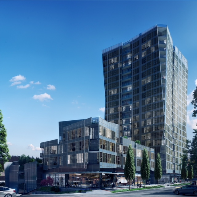 Bellevue, One88, Pacific Northwest, Amanat Architect, Lake Washington, Hirsch Bedner Associates, Bellevue Way Northeast, Bosa Development