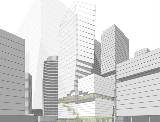 Seattle, Gensler, Onelin Investment Inc., Berger Partnership, South Lake Union, Boren Ave, Early Design Guidance Meeting