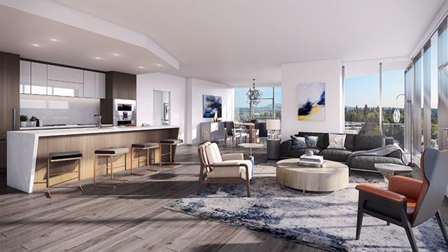 Bosa Development. One88, Seattle, Pacific Northwest, Amanat Architect, Bellevue, Hirsch Bedner Associates, Four Seasons Hotel Kyoto, The Fairmont Empress Hotel, The Alpina Gstaad