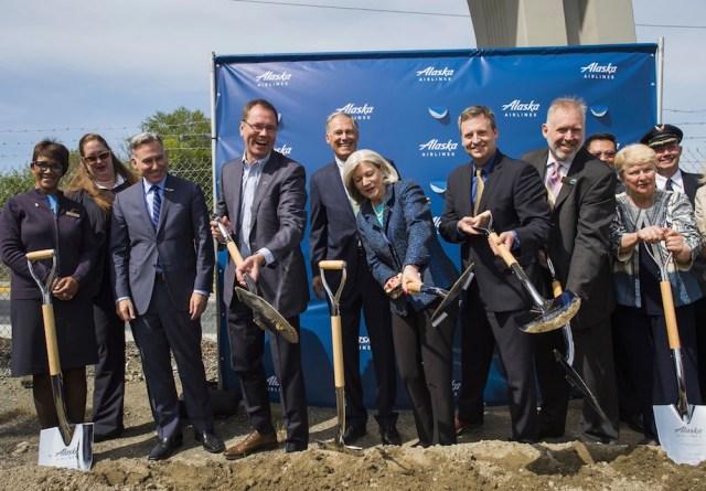 Seattle, Alaska Airlines, NBBJ, Howard S. Wright, KPFF Consulting Engineers, MK Associates, PAE, McKinstry, Holmes, Berger Partnership, Kinzer Partners