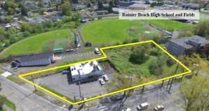 Rainier Beach Light Rail Station, Mt. Baker Housing, Seattle's Rainier Beach, Rainier Beach Community Center, Rainier Valley Food Bank, Mandatory Housing Affordability, Rainier Beach,