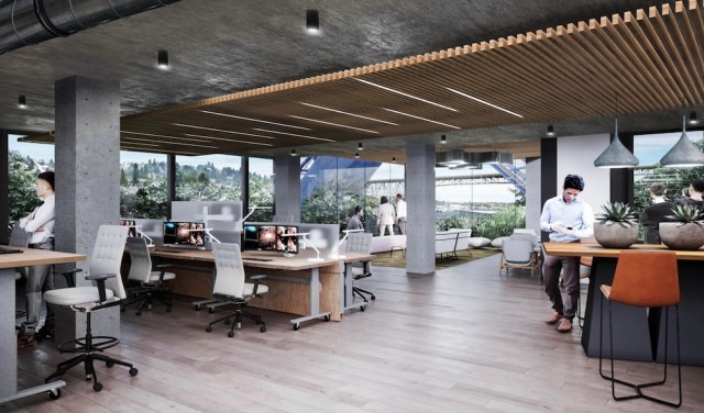 Seattle, SkB Architects, Foushée, Site Workshop, Bleitz Funeral Home, DCI Engineers, Google, Tableau, Fremont Bridge, North Queen Anne