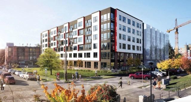 Seattle, GGLO, Roosevelt Development Group, Karen Kiest Landscape Architects, Early Design Guidance, Roosevelt, design review