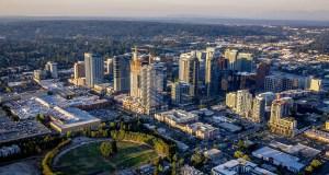 Seattle, Vulcan Real Estate, Graphite Design Group, Compton Design Office, GLY Construction, Bellevue Plaza, Bellevue Transit Center