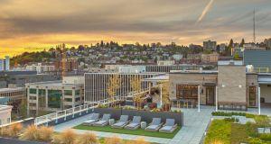 Greystar, Elan Uptown Flats, Puget Sound, The Space Needle, Seattle Center, multifamily real estate company, Charleston, South Carolina