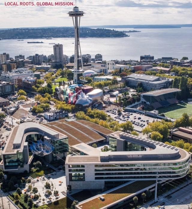 Seattle, Bill & Melinda Gates Foundation, Steelcase, King County, economic activity, workplace strategies, change management