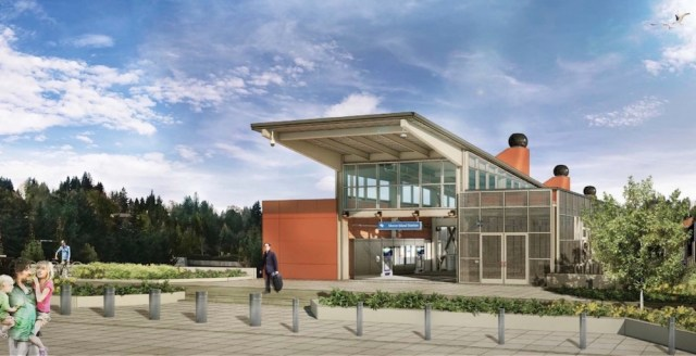Seattle, East Link Light Rail Station, Mercer Island Town Center, Request for Qualifications, East Link Light Rail station