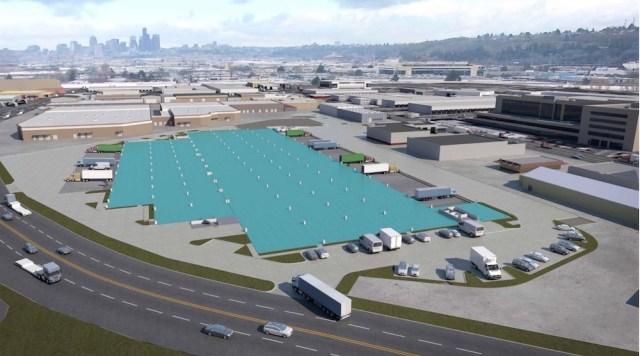 Seattle, Prologis, Craft Architects, industrial market, Puget Sound region, Kidder Mathews, Georgetown Crossroads, warehouse