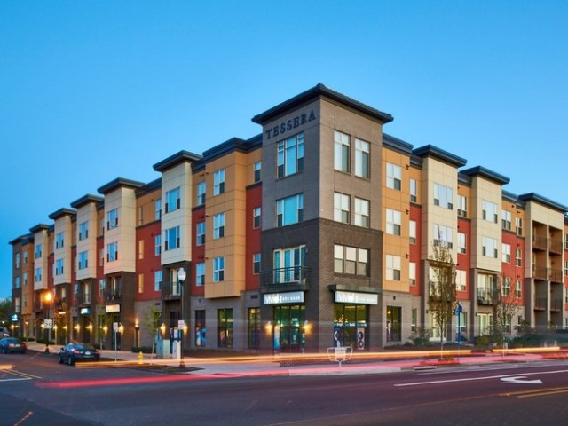 Security Properties, Pacific Life Insurance Company, essera at Orenco Station, Hillsboro, Portland Metropolitan Area, Silicon Forest, Intel, Ronler Acres, The Orenco Station Town Center, New Seasons Market, Starbucks, Beaverton, Portland International Airport, Security Properties Residential