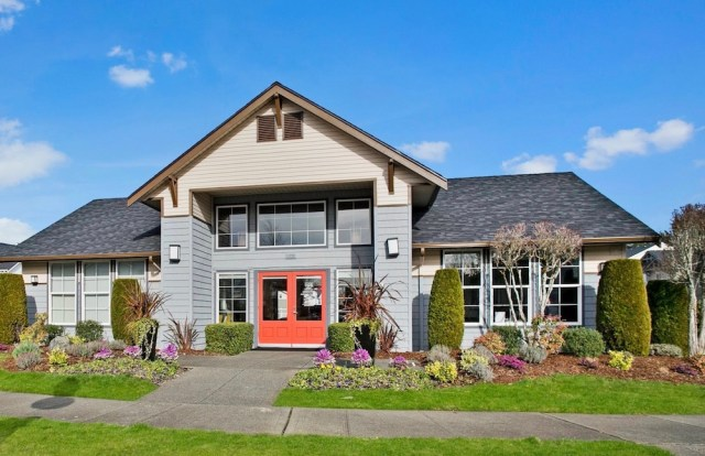 Seattle, Sunroad Enterprises, Security Properties, Clock Tower Village Apartments, DuPont, Pierce County records, Amazon, State Farm